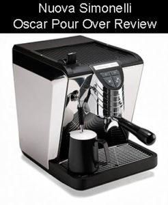 Nuova Simonelli Oscar Pour Over Espresso Machine Review