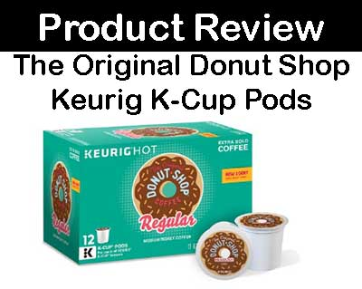 The Original Donut Shop, Regular, Medium Extra Bold, Keurig K-Cups