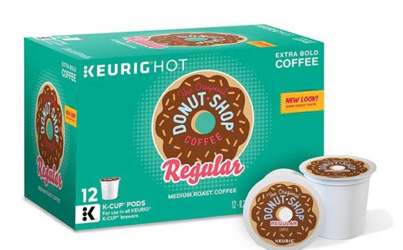 The Original Donut Shop, Regular, Medium Extra Bold, Keurig K-Cups