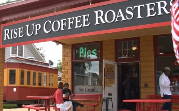best coffee in Maryland Rise Up coffee roasters