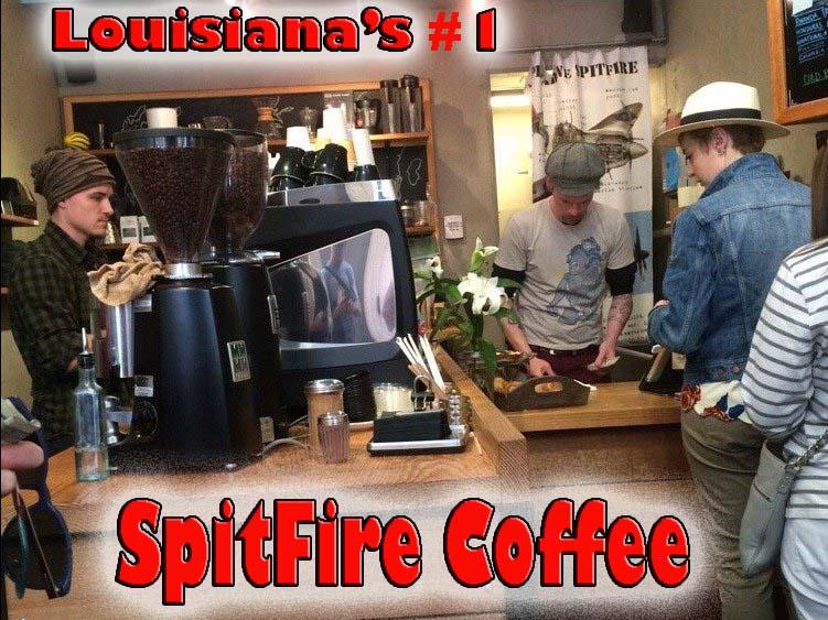Louisiana's best coffee spitfire