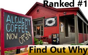 Alchemy coffee ranked best coffee shop in Utah