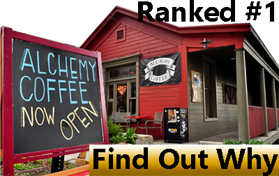 Alchemy coffee ranked best coffee shop in Utah