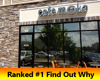 Cafe Moka ranked the best coffee shop in Virginia