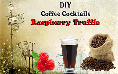 Coffee Cocktail Raspberry Truffle Recipe