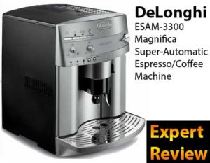 Delonghi Esam3300 Magnifica Super Automatic Espresso And