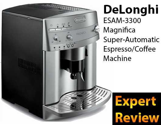 DeLonghi ESAM3300 Magnifica Super-Automatic Espresso ...