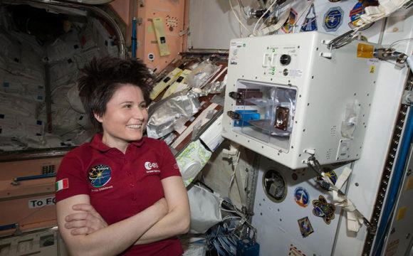 international space station coffee