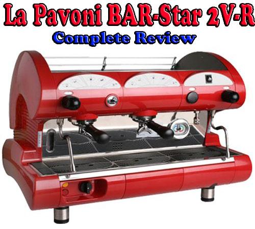 La Pavoni BAR-Star 2V-R 2 Group Commercial Espresso Machine