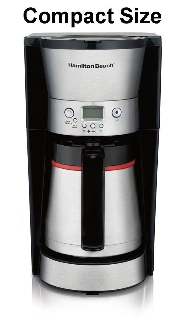 Hamilton Beach 10 Cup Coffee Maker With Vacuum Thermal