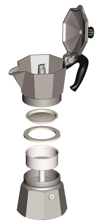 Coffee Maker Valve : Bialetti Coffee Maker - Moka Pot - Stovetop Espresso Maker - Review