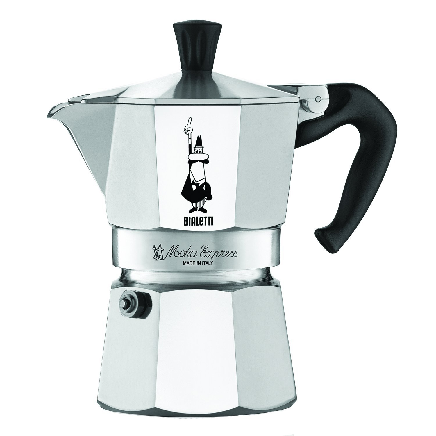 bialetti coffee maker moka pot stovetop espresso maker. Black Bedroom Furniture Sets. Home Design Ideas