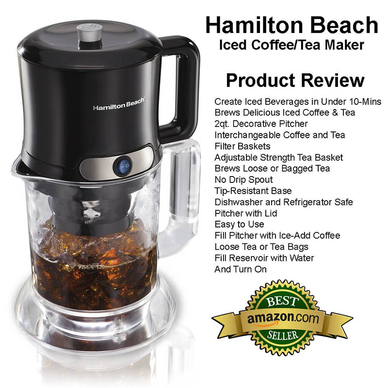 Hamilton Beach Iced Coffee Tea Maker Review