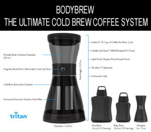 The Bod Cold Coffee Brewing System