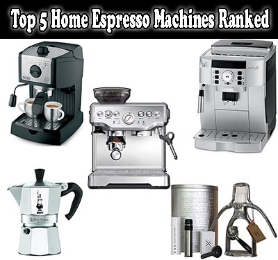 Top 5 Home Espresso Machines