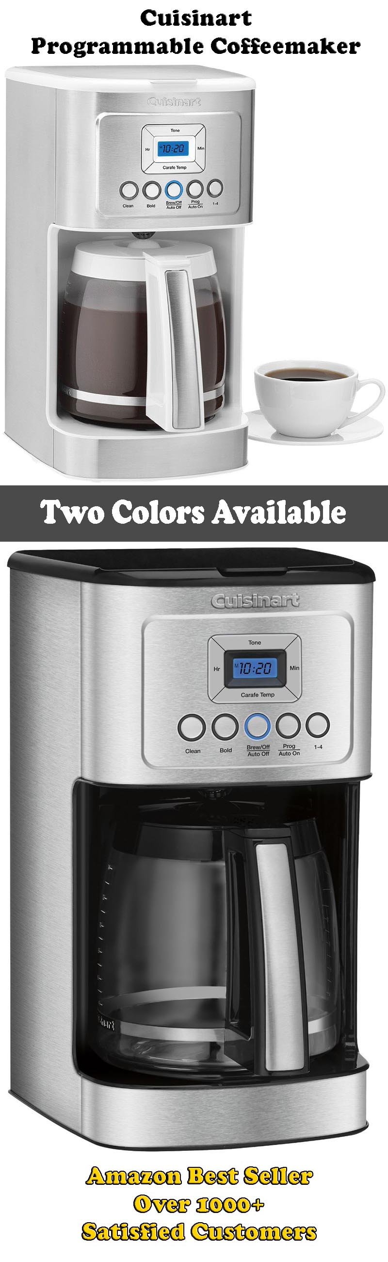 Cuisinart DCC-3200 Perfect Temp 14 Cup Programmable Coffeemaker