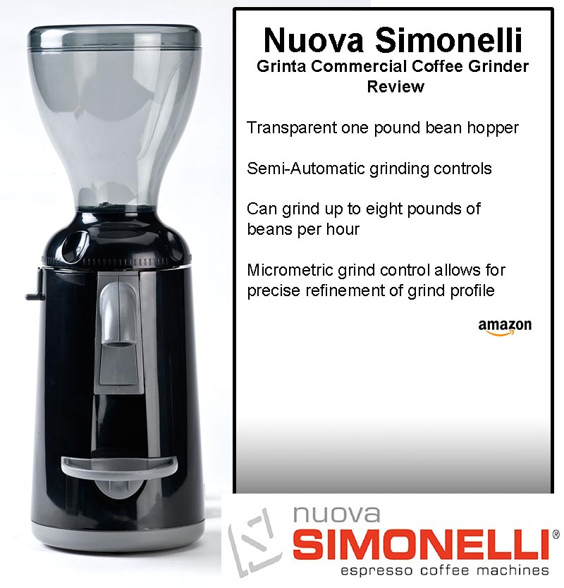Nuova Simonelli Grinta Commercial Coffee Grinder Review