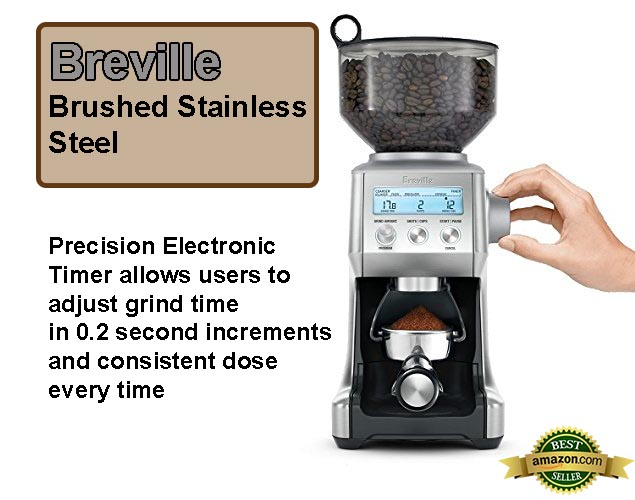 Breville Smart Coffee Grinder Pro Has 60 Different Grind Settings