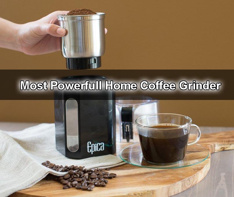 Epica Electric Coffee Grinder - 250 watt powerful motor