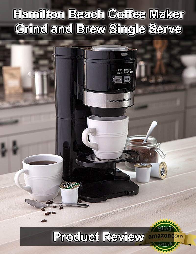 Hamilton Beach Coffee Maker: Grind and Brew Single Serve Review