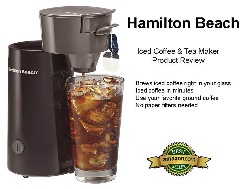 Hamilton Beach Personal Iced Coffee & Tea Maker Review