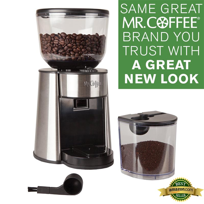 The Verdict: Mr. Coffee BMH23 Automatic Burr Mill Coffee Grinder