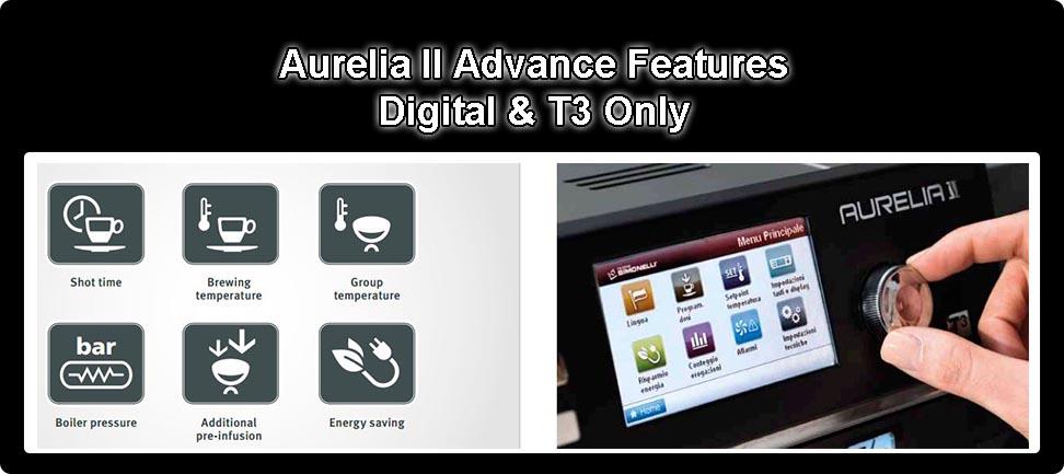 Nuova Simonelli Aurelia II Advance Features