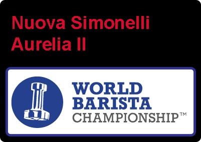 Nuova simonelli aurelia II world barista championship winner