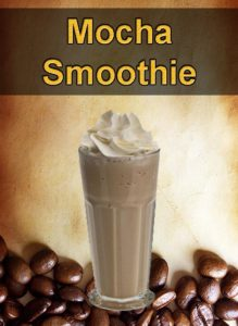 Iced Coffee Idea Mocha Smoothie