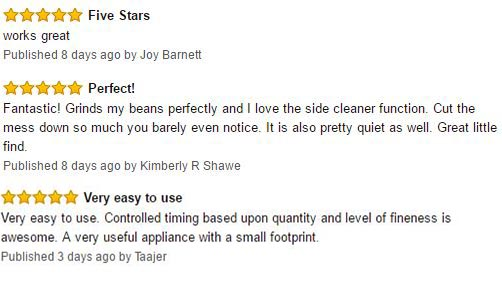 Mr. Coffee IDS77 12 Cup Electric Coffee Grinder Customer Reviews