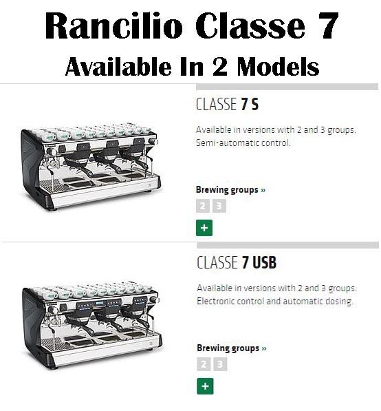 Rancilio classe 7 fully automatic commercial espresso machine for sale