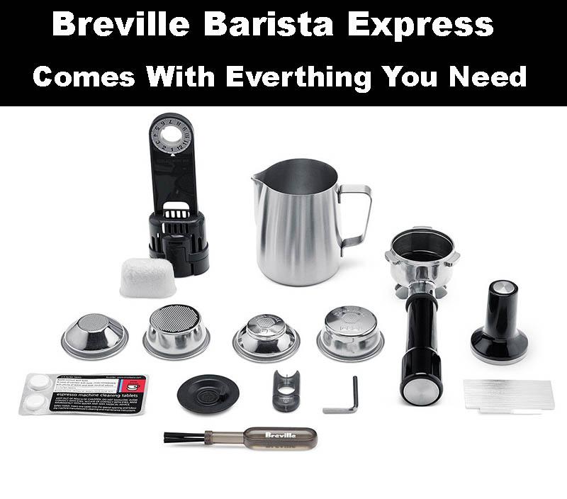 breville barista express espresso machine for sale