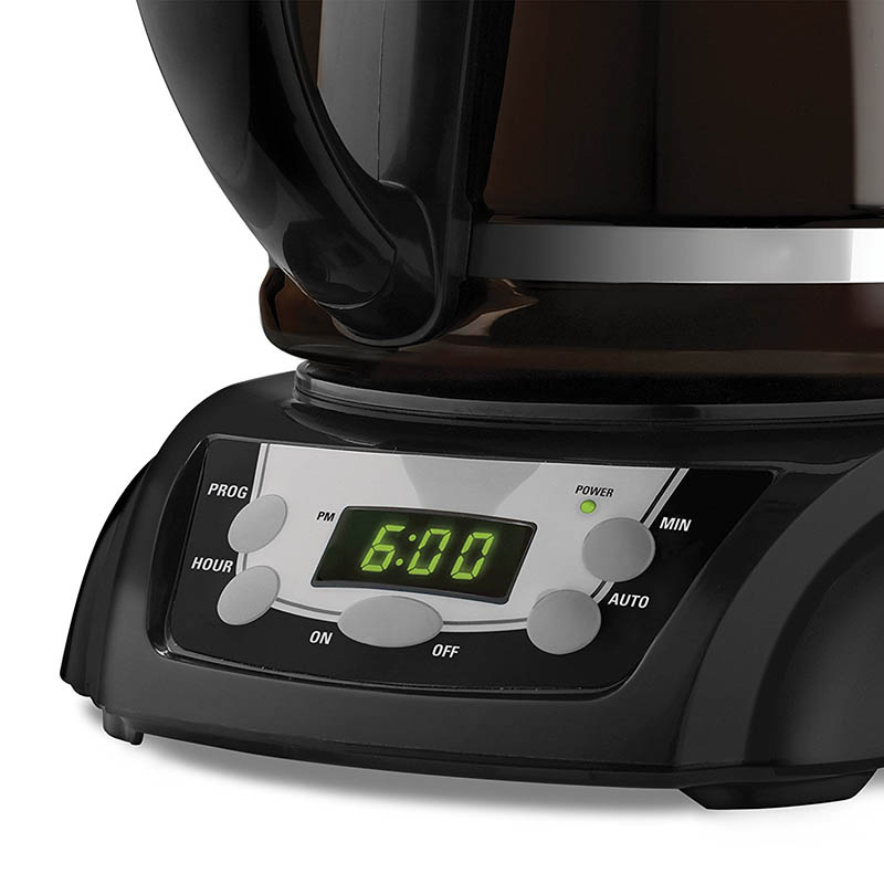 Black And Decker Coffee Maker Timer Instructions : Black & Decker DLX1050B 12-Cup Programmable Coffeemaker with Glass Carafe Product Review