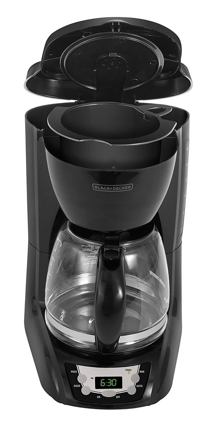 Black And Decker Coffee Maker Carafe Leaks : Black & Decker DLX1050B 12-Cup Programmable Coffeemaker with Glass Carafe Product Review