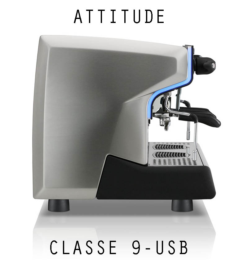 Rancilio CLASSE 9-USB SIDE VIEW FOR SALE