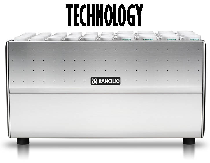 Rancilio CLASSE 9 USB FOR SALE back view