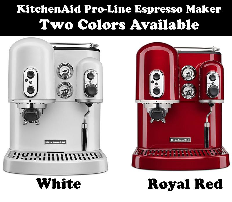 Kitchenaid Pro Line Series Espresso Maker Product Review