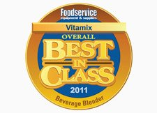 Vitamix Won 2011 Best In Class Award