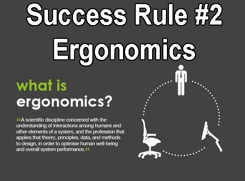 Erognomics of Work Station is Vital
