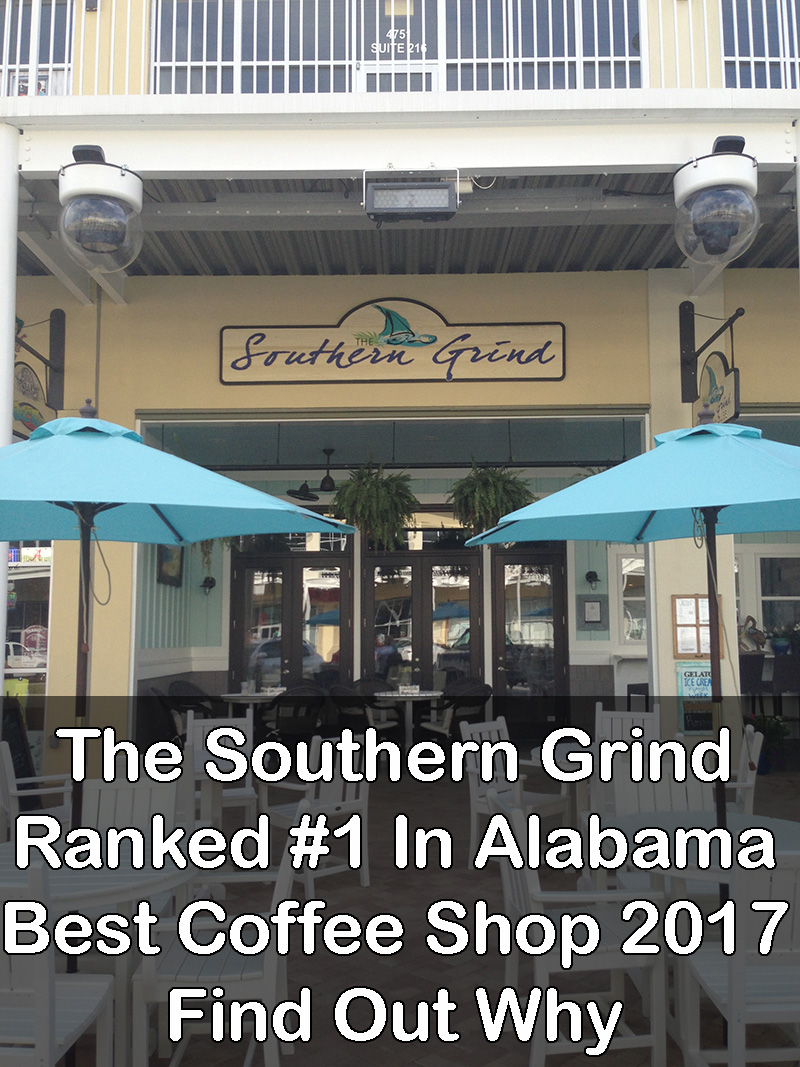 The Southern Grind Coffee House Ranked #1 In Alabama
