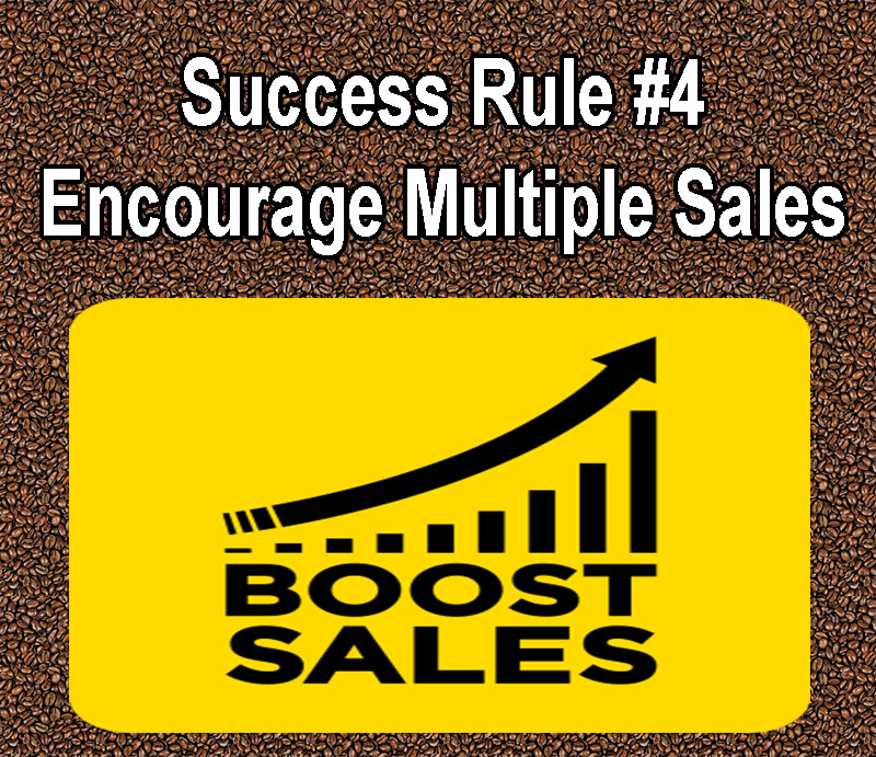 Tips for Making Your Coffee Shop a Success encourage multiple sales