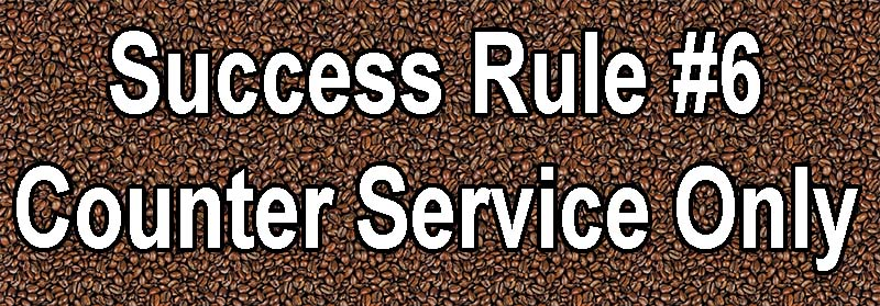Tips for Making Your Coffee Shop a Success counter service only