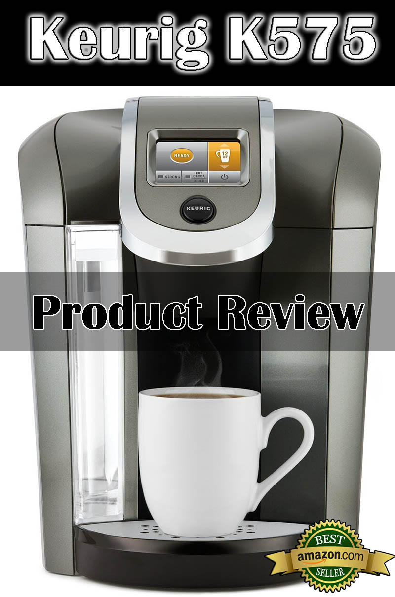 Keurig Coffee Maker Hot Water Feature : Keurig K575 Single Serve Programmable K-Cup Coffee Maker with 12 oz Brew Size and Hot Water on ...
