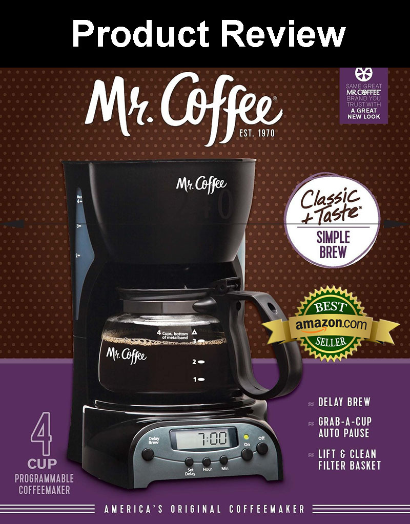 Mr Coffee Drx5 4 Cup Programmable Coffeemaker Product Review