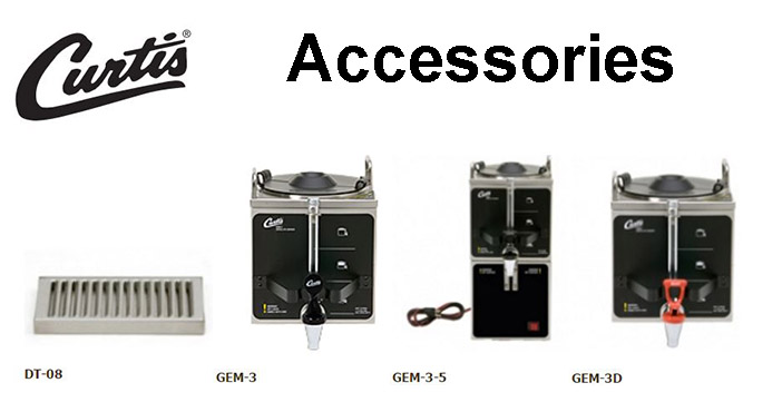 Wilbur Curtis GEM-12D Accessories Option