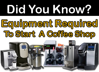 The Type of Equipment Required to Start Your Own Coffee Shop