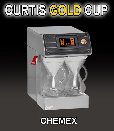 Wilbur Curtis Gold Cup Single Cup Brewer: CHEMEX