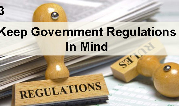 3# Make sure your grand opening abides government regulations