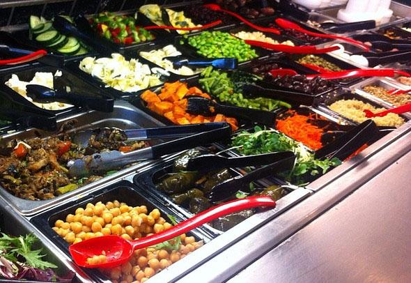 Savoy Cafe & Deli: Awesome Award Winning Salad Bar