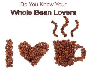 Coffee Shop Target Market: Whole Bean Lovers